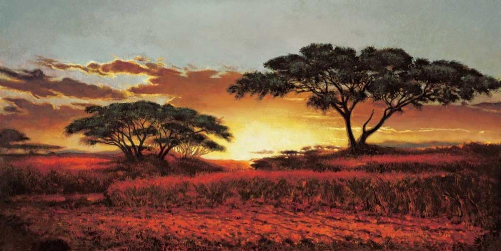 konfigurieren des Kunstdrucks in Wunschgröße Memories of Serengeti von Madou