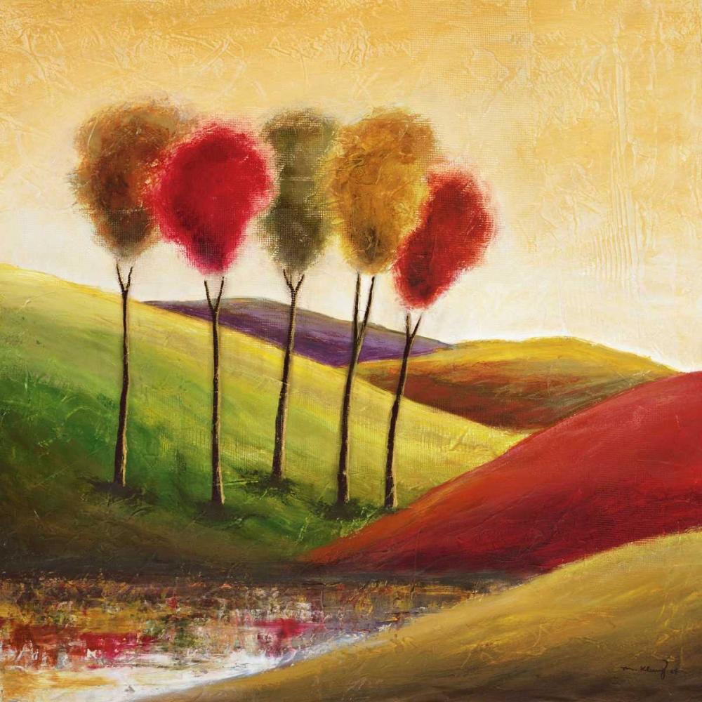konfigurieren des Kunstdrucks in Wunschgröße Endless Hills II von Klung, Mike