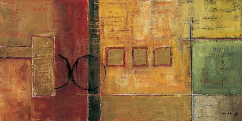 konfigurieren des Kunstdrucks in Wunschgröße Harmony I von Klung, Mike