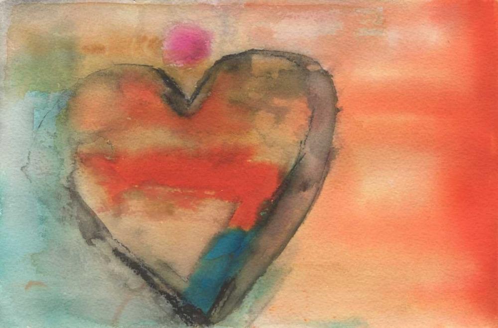 konfigurieren des Kunstdrucks in Wunschgröße Sweethearts I von Oppenheimer, Michelle