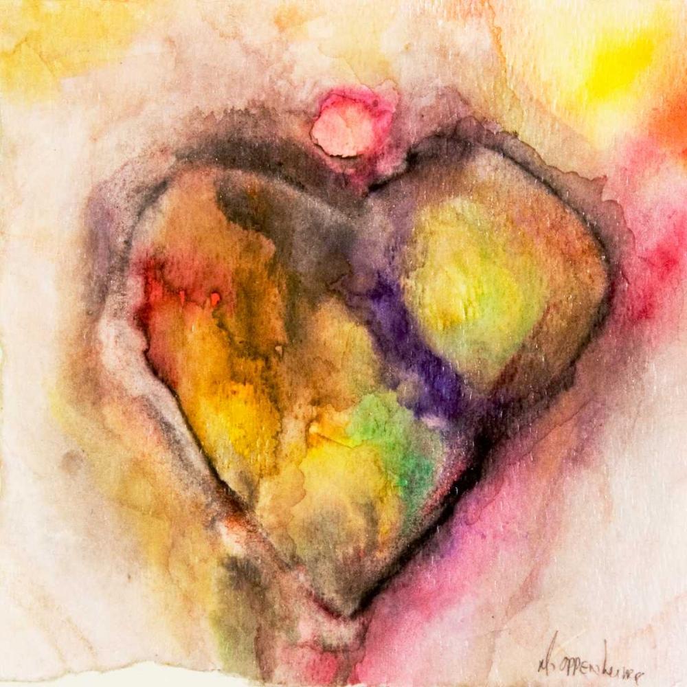 konfigurieren des Kunstdrucks in Wunschgröße Full of Heart von Oppenheimer, Michelle