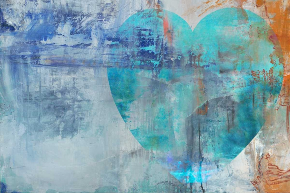 konfigurieren des Kunstdrucks in Wunschgröße Heartfelt III von Oppenheimer, Michelle