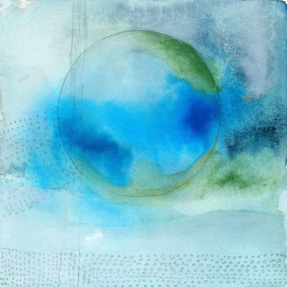 konfigurieren des Kunstdrucks in Wunschgröße Aqua Sphere von Oppenheimer, Michelle