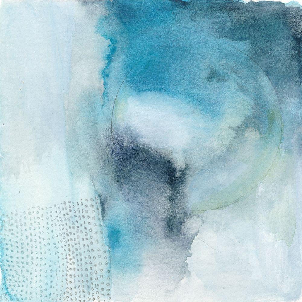 konfigurieren des Kunstdrucks in Wunschgröße Aqua Movement von Oppenheimer, Michelle