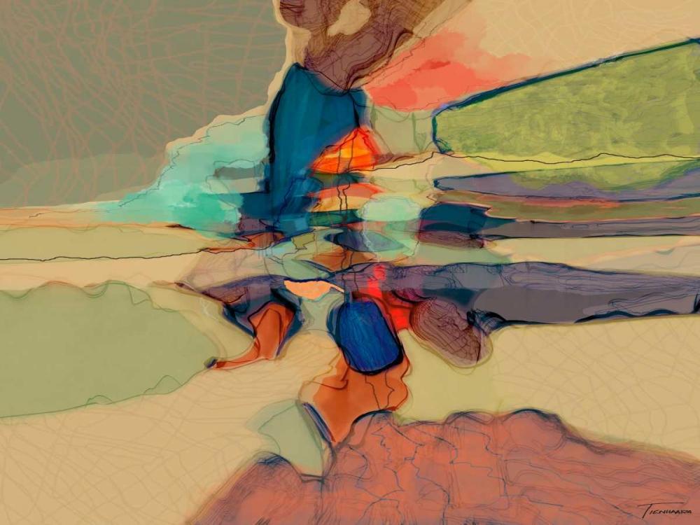 konfigurieren des Kunstdrucks in Wunschgröße Progression III von Tienhaara, Michael