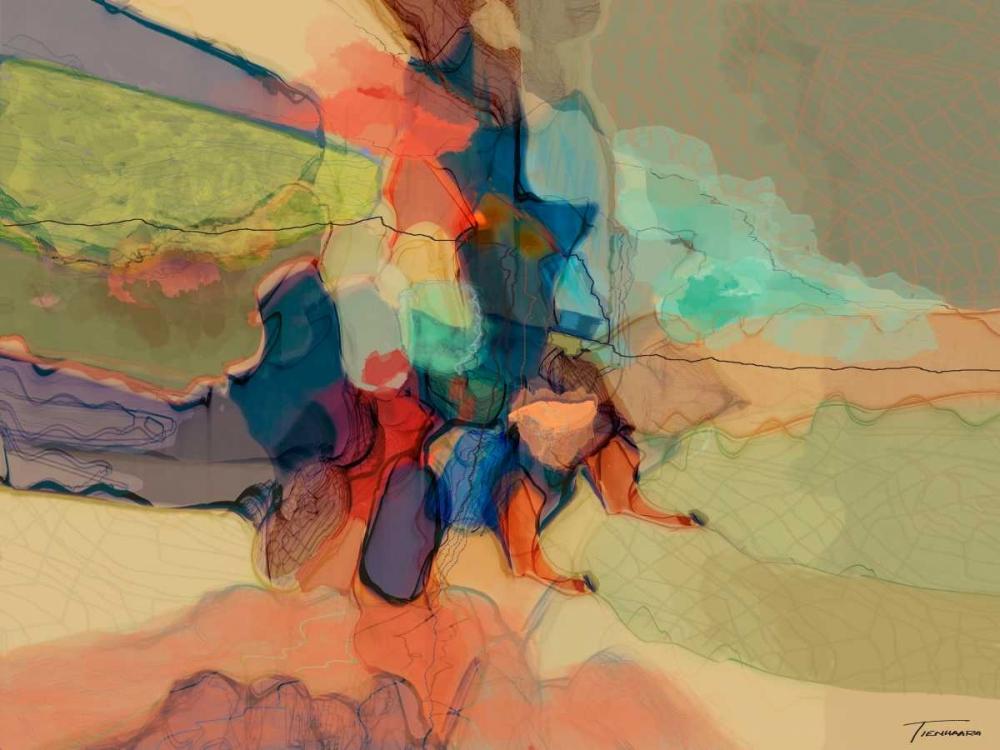 konfigurieren des Kunstdrucks in Wunschgröße Progression IV von Tienhaara, Michael