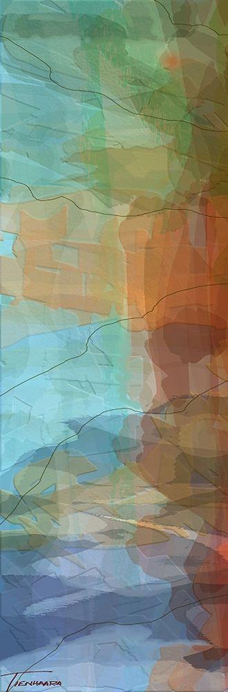 konfigurieren des Kunstdrucks in Wunschgröße Tryptic Visions Left von Tienhaara, Michael