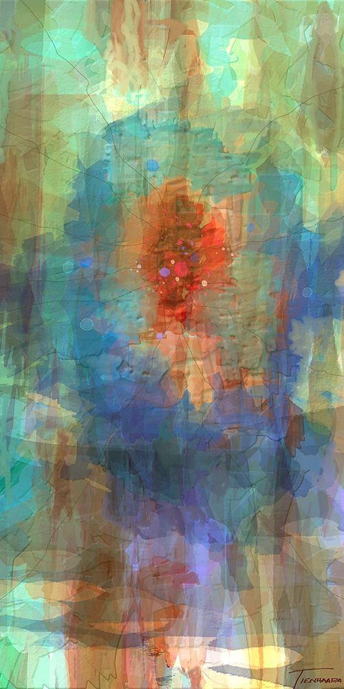 konfigurieren des Kunstdrucks in Wunschgröße Tryptic Visions Center von Tienhaara, Michael