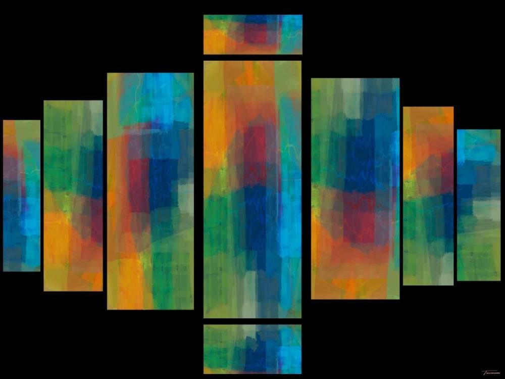 konfigurieren des Kunstdrucks in Wunschgröße Sequential I von Tienhaara, Michael