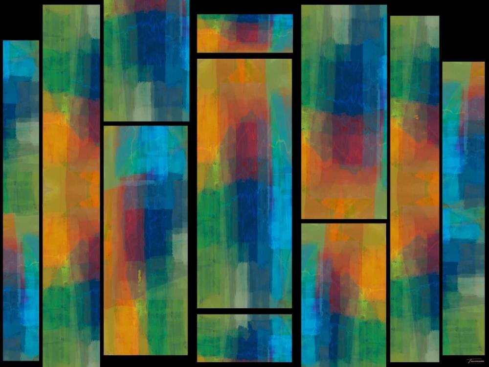 konfigurieren des Kunstdrucks in Wunschgröße Sequential III von Tienhaara, Michael