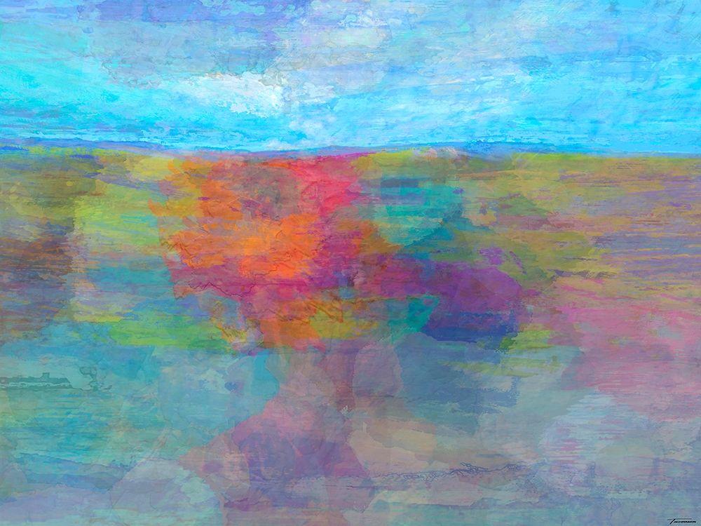 konfigurieren des Kunstdrucks in Wunschgröße Horizon I von Tienhaara, Michael