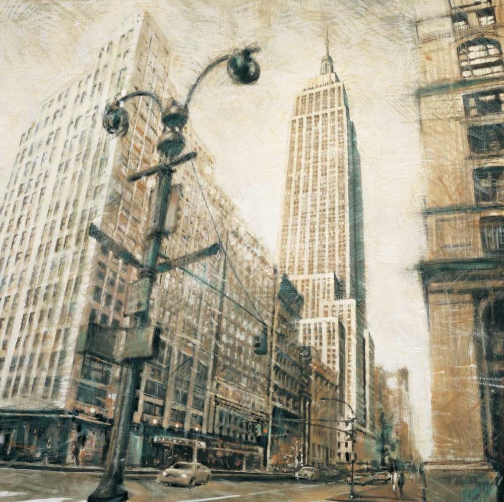 konfigurieren des Kunstdrucks in Wunschgröße Empire State Building-Manhattan von Daniels, Matthew