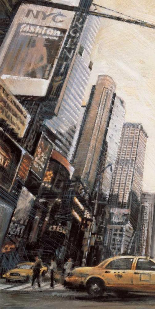 konfigurieren des Kunstdrucks in Wunschgröße Times Square I von Daniels, Matthew