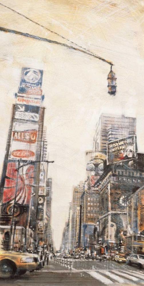 konfigurieren des Kunstdrucks in Wunschgröße Times Square II von Daniels, Matthew