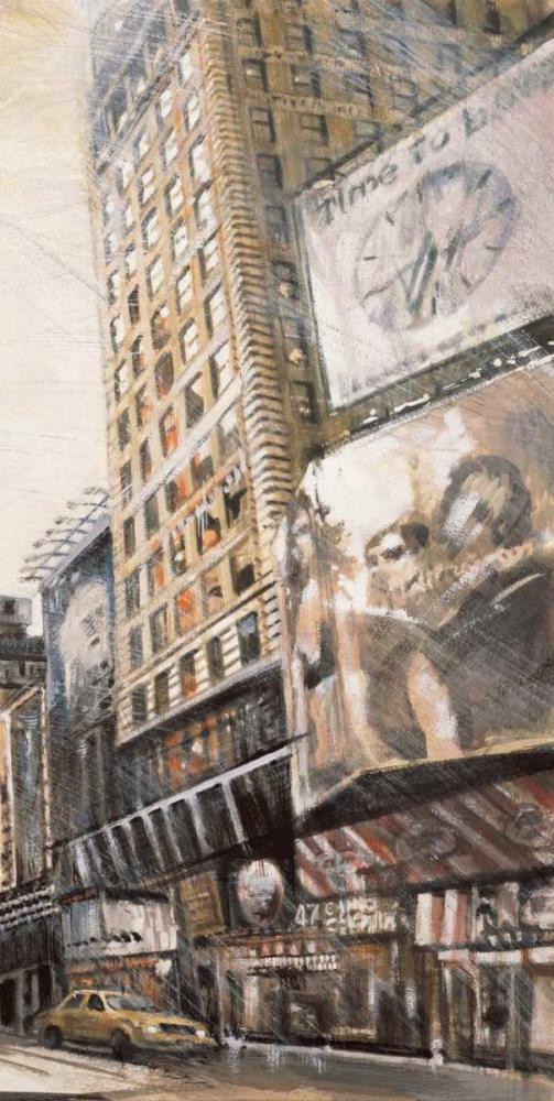 konfigurieren des Kunstdrucks in Wunschgröße Times Square III von Daniels, Matthew