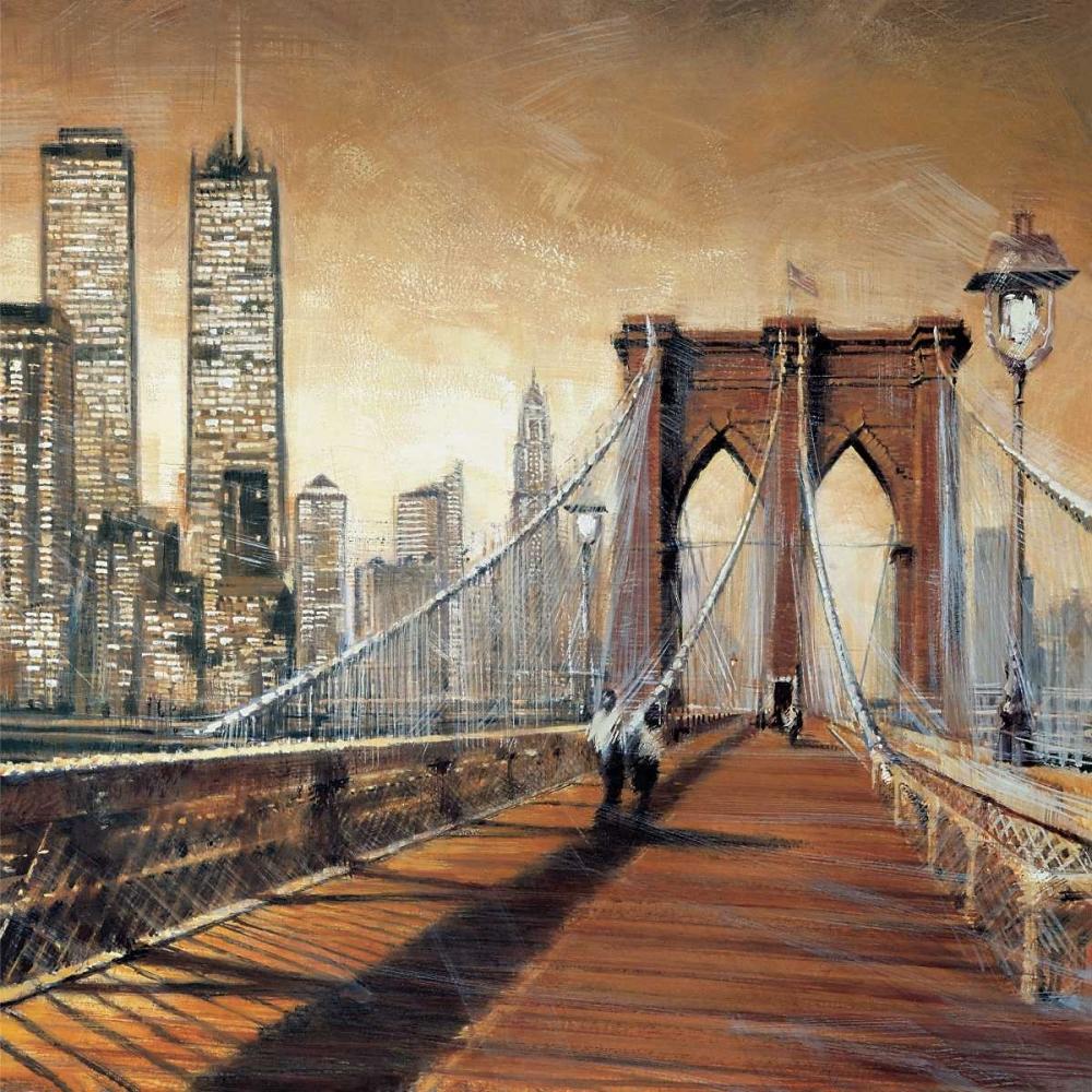 konfigurieren des Kunstdrucks in Wunschgröße Manhattan Sunset II von Daniels, Matthew