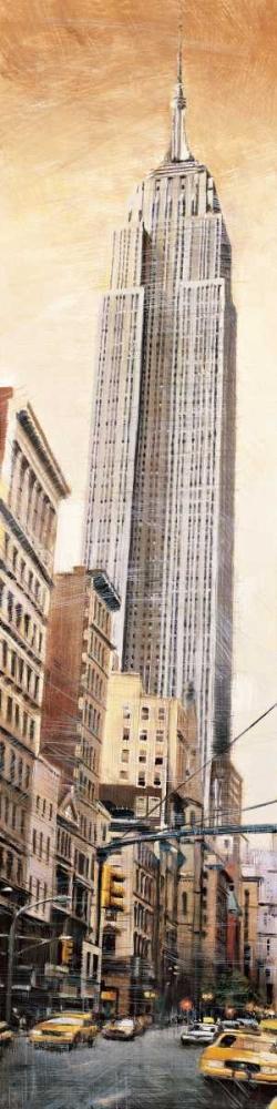 konfigurieren des Kunstdrucks in Wunschgröße The Empire State Building von Daniels, Matthew