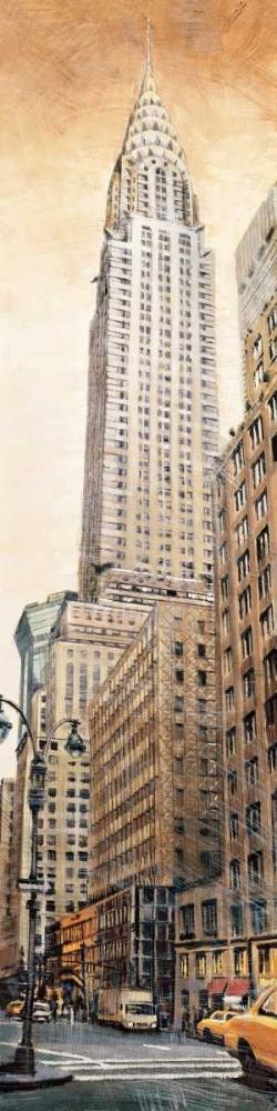 konfigurieren des Kunstdrucks in Wunschgröße The Chrysler Building von Daniels, Matthew
