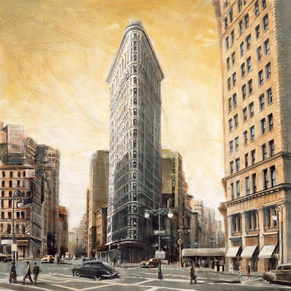 konfigurieren des Kunstdrucks in Wunschgröße The Flatiron Building von Daniels, Matthew