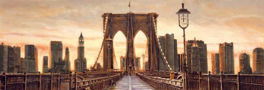 konfigurieren des Kunstdrucks in Wunschgröße Manhattan Evening von Daniels, Matthew