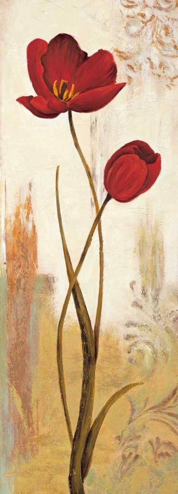konfigurieren des Kunstdrucks in Wunschgröße Panneau tulipe von Besson, Nathalie