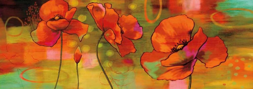 konfigurieren des Kunstdrucks in Wunschgröße Magical Poppies von Sutton, Nicole