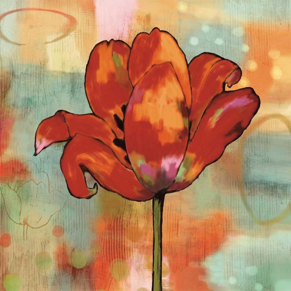 konfigurieren des Kunstdrucks in Wunschgröße Fanciful I von Sutton, Nicole