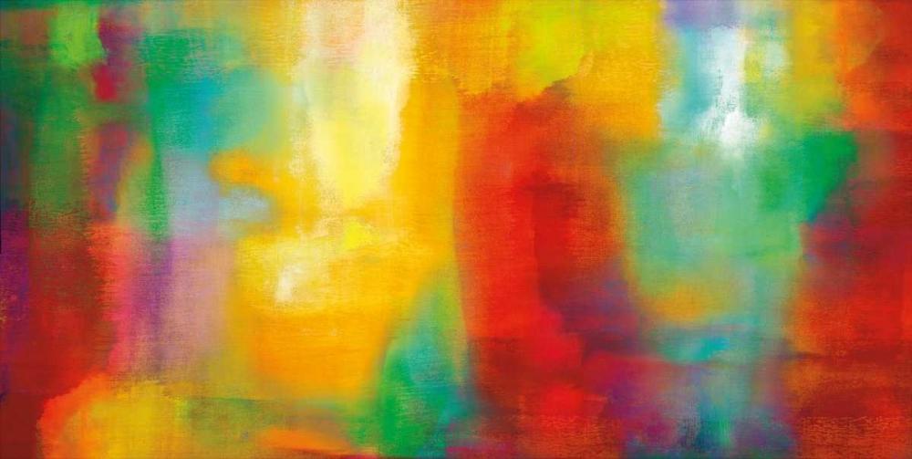konfigurieren des Kunstdrucks in Wunschgröße Color My World von Rhodes, Natalie