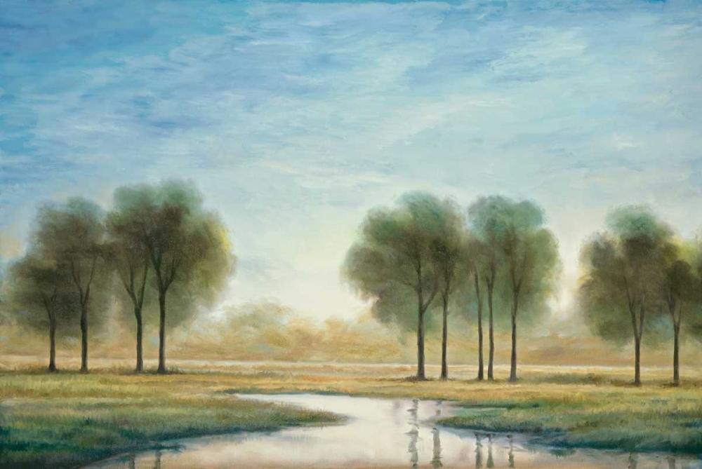 konfigurieren des Kunstdrucks in Wunschgröße Morning Reflection I von Thomas, Neil