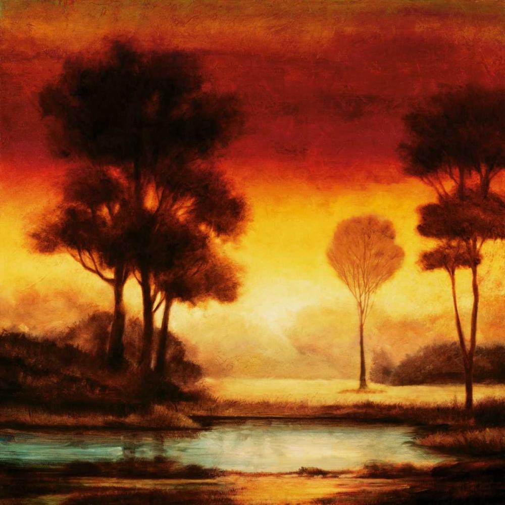 konfigurieren des Kunstdrucks in Wunschgröße Evening Light I von Thomas, Neil