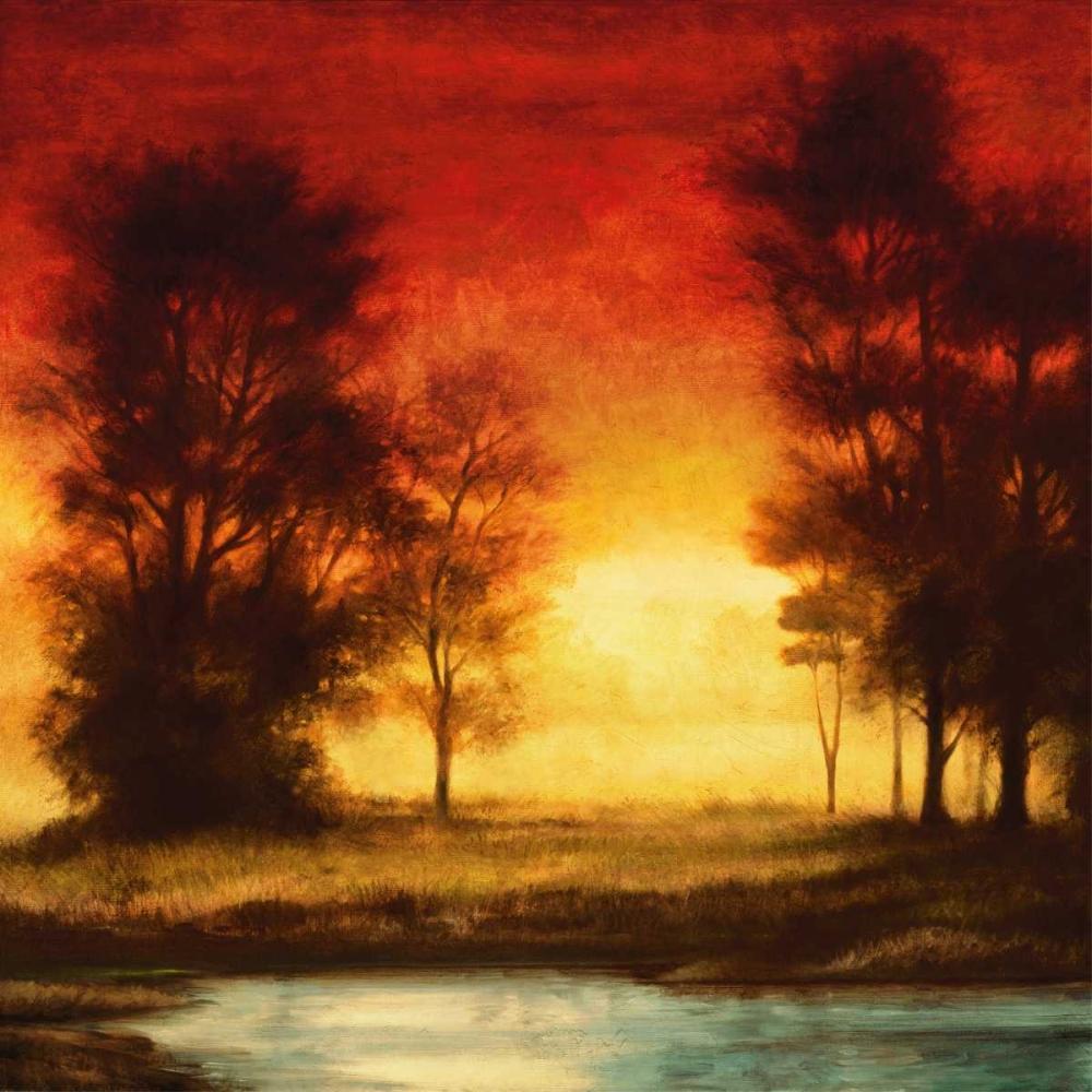 konfigurieren des Kunstdrucks in Wunschgröße Evening Light II von Thomas, Neil