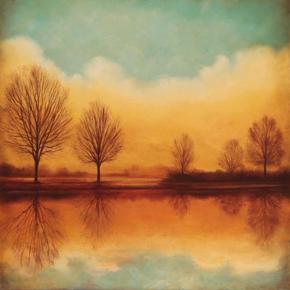 konfigurieren des Kunstdrucks in Wunschgröße Reflections of Autumn I von Thomas, Neil