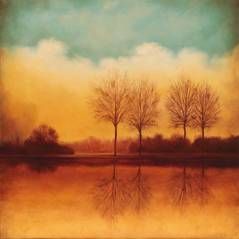 konfigurieren des Kunstdrucks in Wunschgröße Reflections of Autumn II von Thomas, Neil