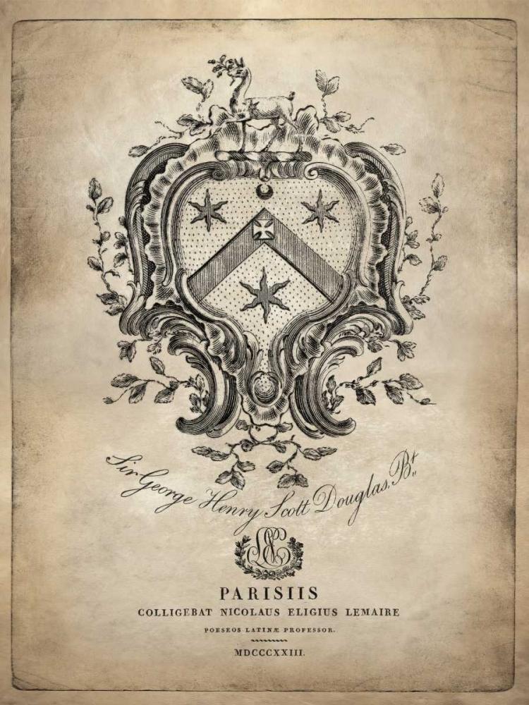 konfigurieren des Kunstdrucks in Wunschgröße Heraldry IV von Jeffries, Oliver