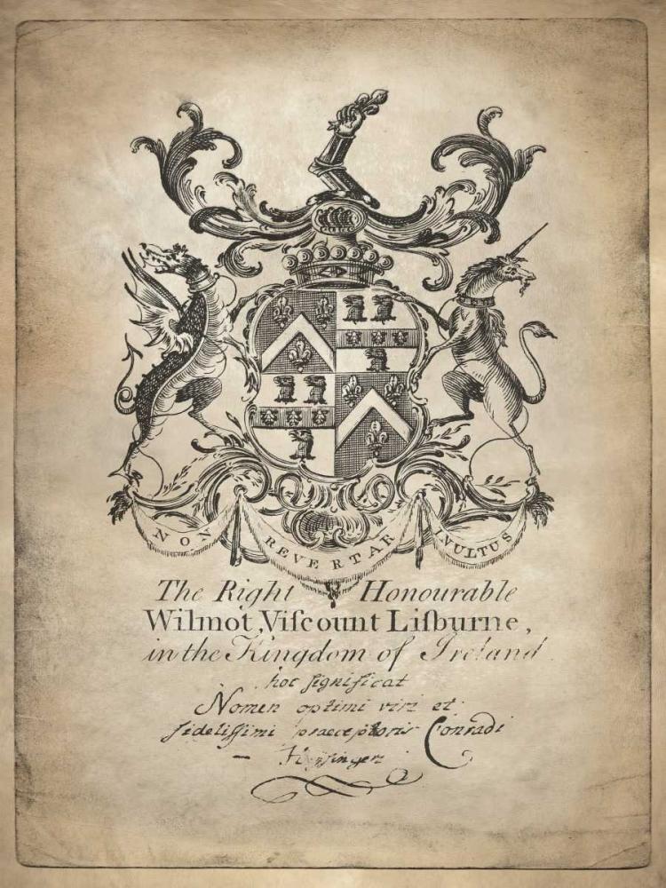 konfigurieren des Kunstdrucks in Wunschgröße Heraldry II von Jeffries, Oliver