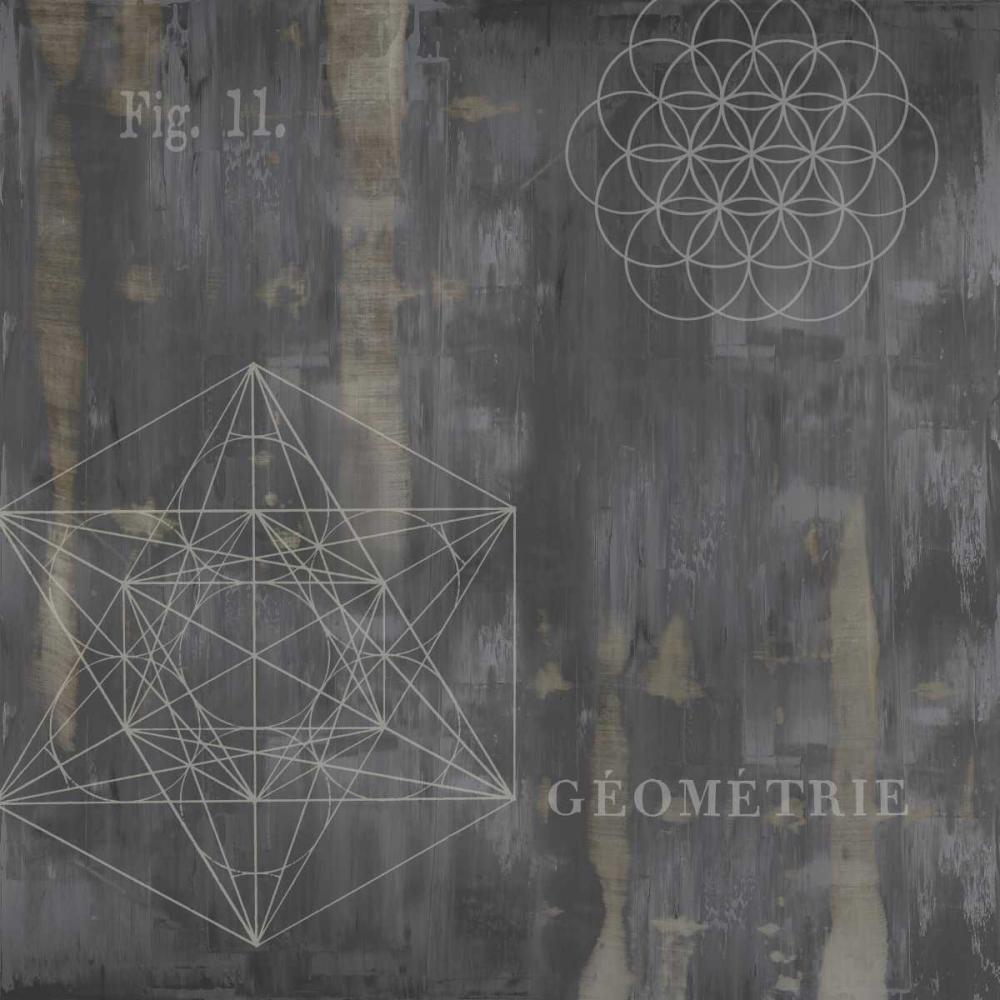 konfigurieren des Kunstdrucks in Wunschgröße Geometrie III von Jeffries, Oliver
