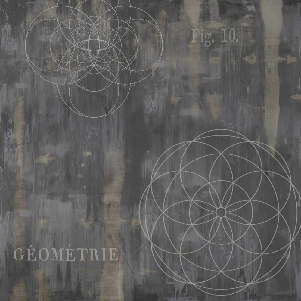konfigurieren des Kunstdrucks in Wunschgröße Geometrie IV von Jeffries, Oliver