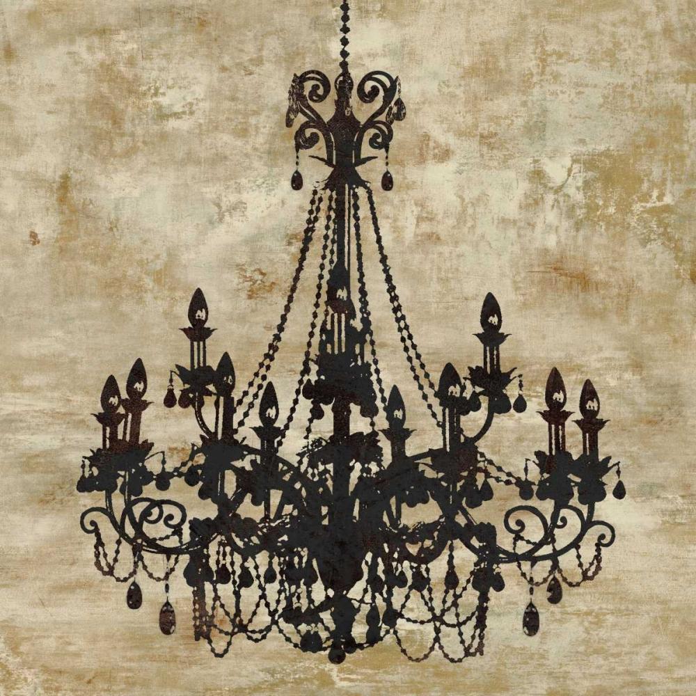 konfigurieren des Kunstdrucks in Wunschgröße Chandelier I von Jeffries, Oliver