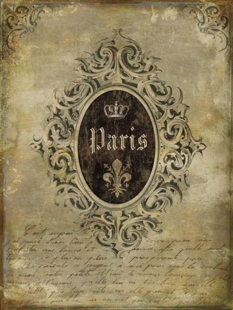 konfigurieren des Kunstdrucks in Wunschgröße Paris Classique I von Jeffries, Oliver