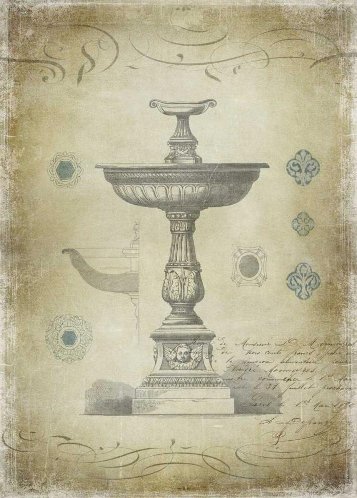 konfigurieren des Kunstdrucks in Wunschgröße Ornamental II von Jeffries, Oliver