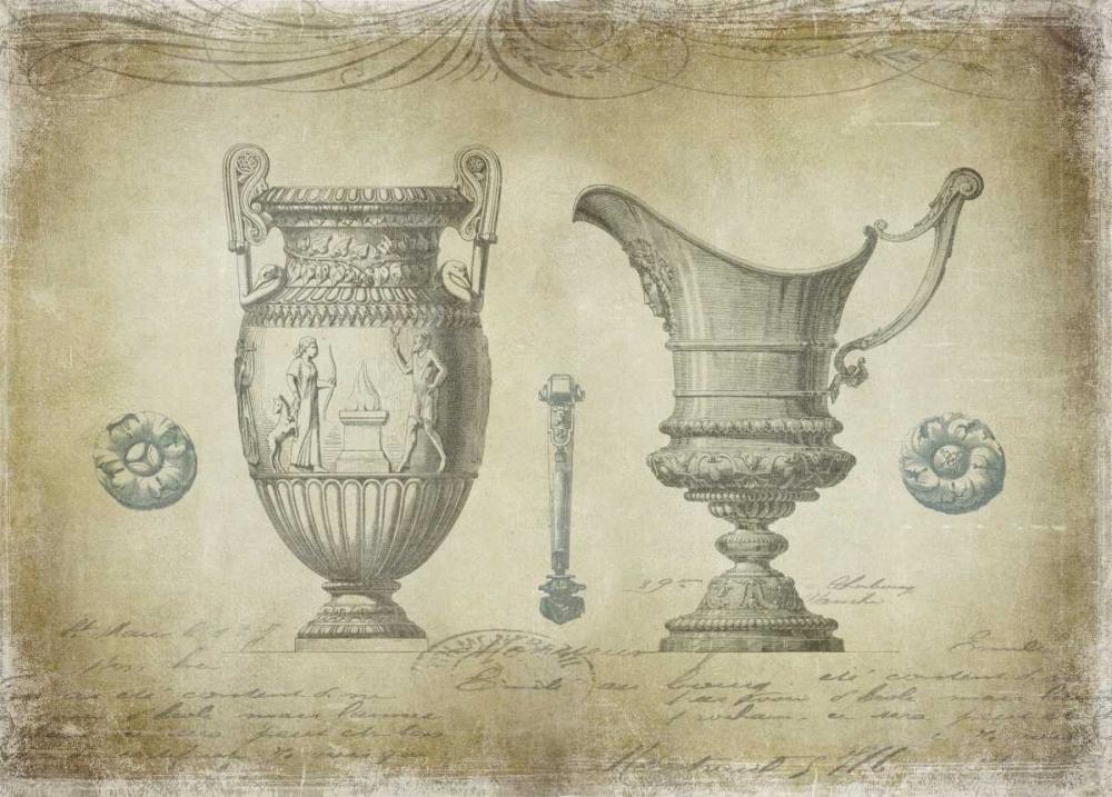 konfigurieren des Kunstdrucks in Wunschgröße Ornamental IV von Jeffries, Oliver