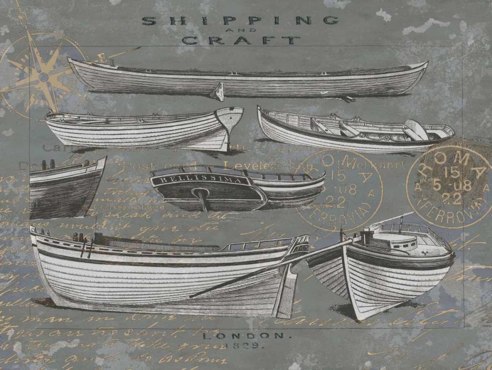 konfigurieren des Kunstdrucks in Wunschgröße Shipping and Craft I von Jeffries, Oliver