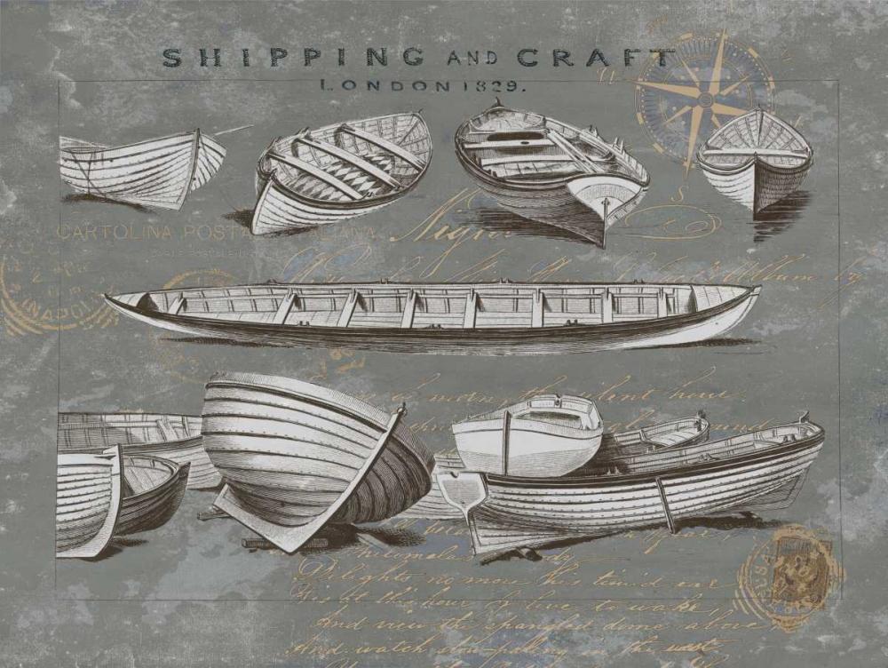 konfigurieren des Kunstdrucks in Wunschgröße Shipping and Craft II von Jeffries, Oliver