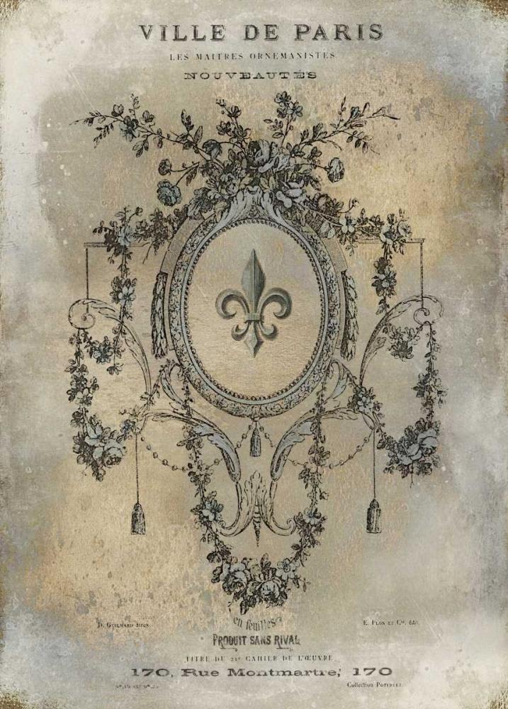 konfigurieren des Kunstdrucks in Wunschgröße Ville de Paris von Jeffries, Oliver