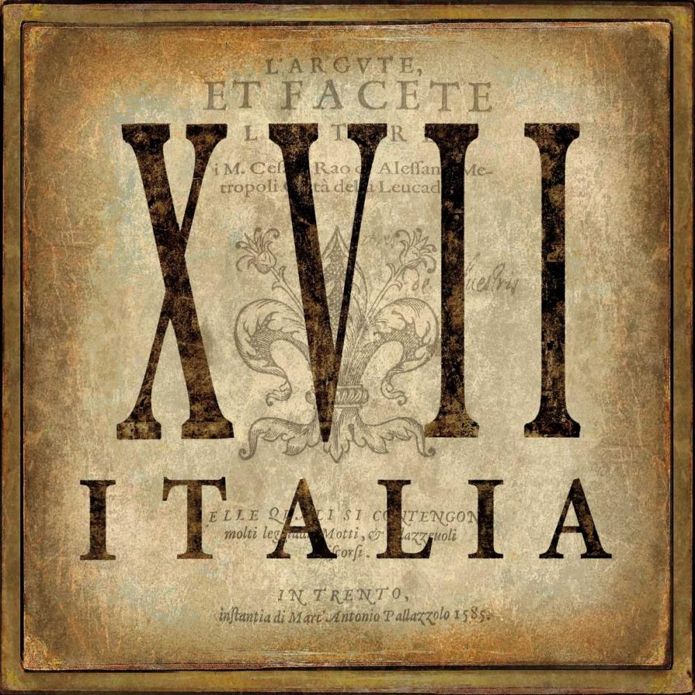konfigurieren des Kunstdrucks in Wunschgröße Italia von Jeffries, Oliver