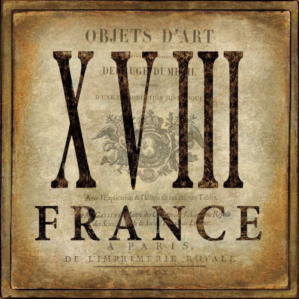 konfigurieren des Kunstdrucks in Wunschgröße France von Jeffries, Oliver