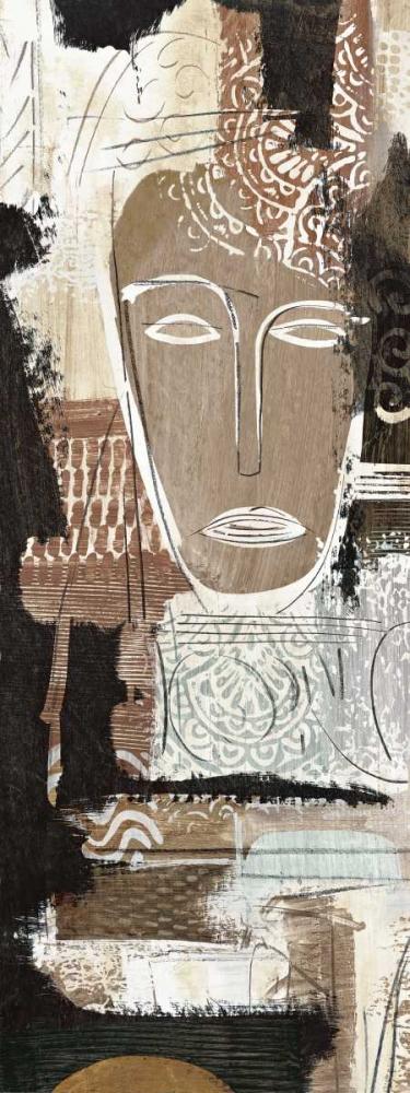 konfigurieren des Kunstdrucks in Wunschgröße Ethnic Panel I von Carney, Patrick