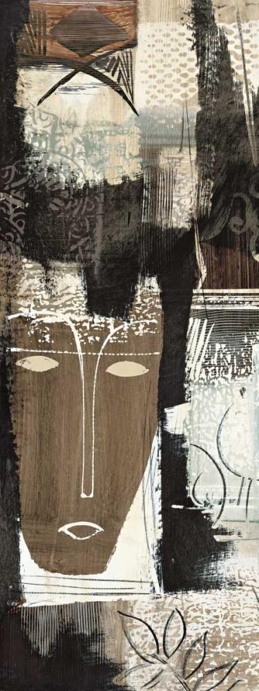 konfigurieren des Kunstdrucks in Wunschgröße Ethnic Panel II von Carney, Patrick