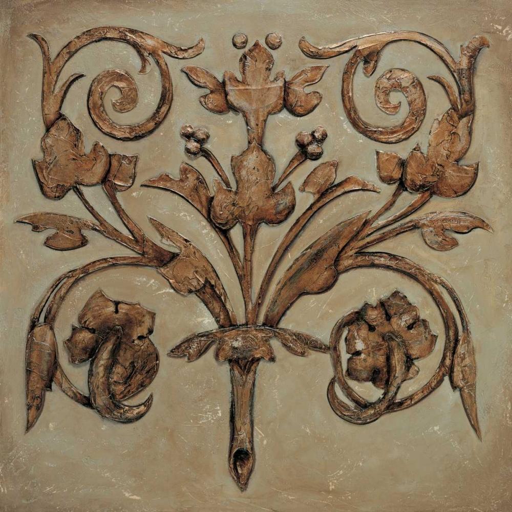 konfigurieren des Kunstdrucks in Wunschgröße Decorative Scroll II von Segovia, Pablo