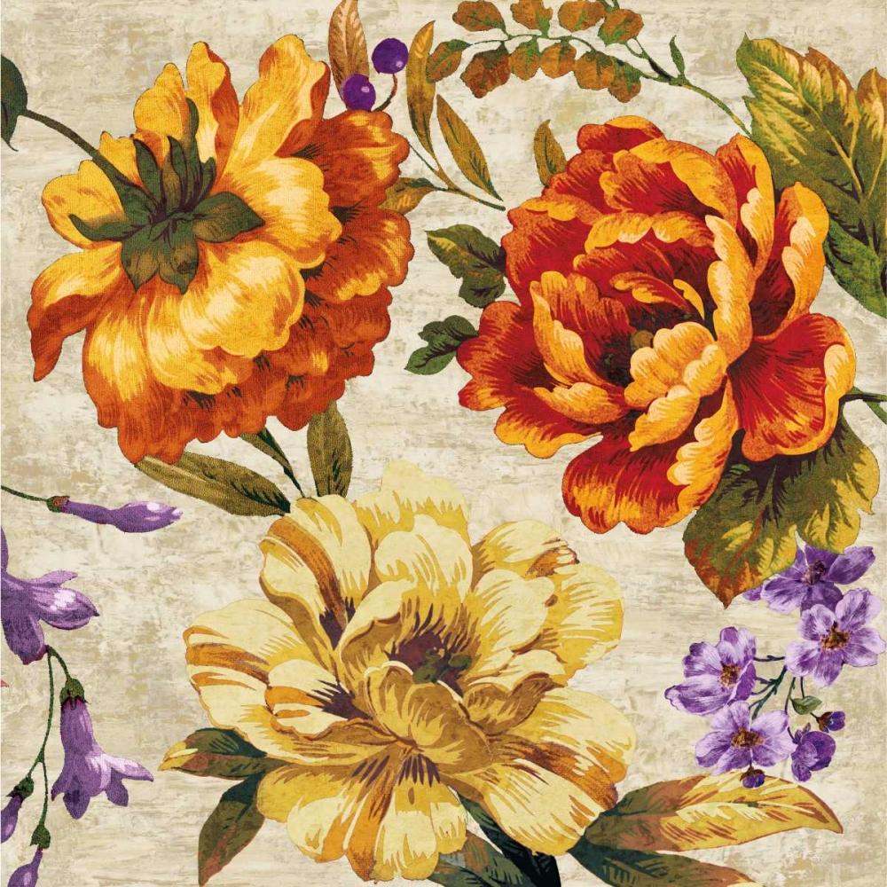konfigurieren des Kunstdrucks in Wunschgröße Brilliant Bloom II von Davis, Pamela